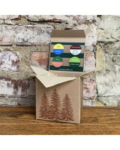 Deep Forest Votive Box