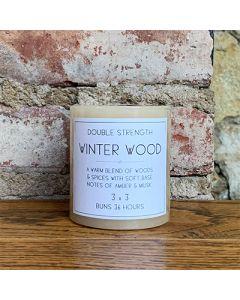 Winter Wood Column