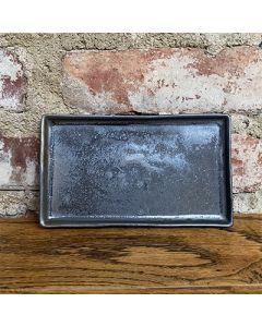 "Ceramic Rectangle Plate - 7"""
