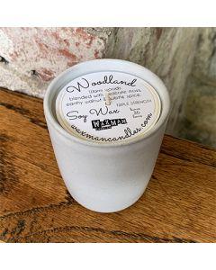 Soy Filled Ceramic Vessel - Woodland