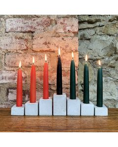 Kwanzaa Ceramic Candle Holder Set