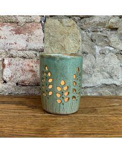Wheat Stalk Ceramic Lantern