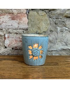 Sunflower Ceramic Lantern