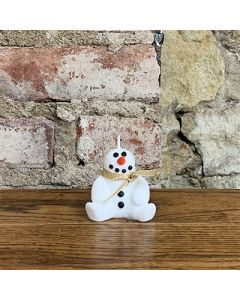 Seated Snowman