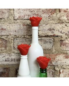 Rose Bottle Topper Set